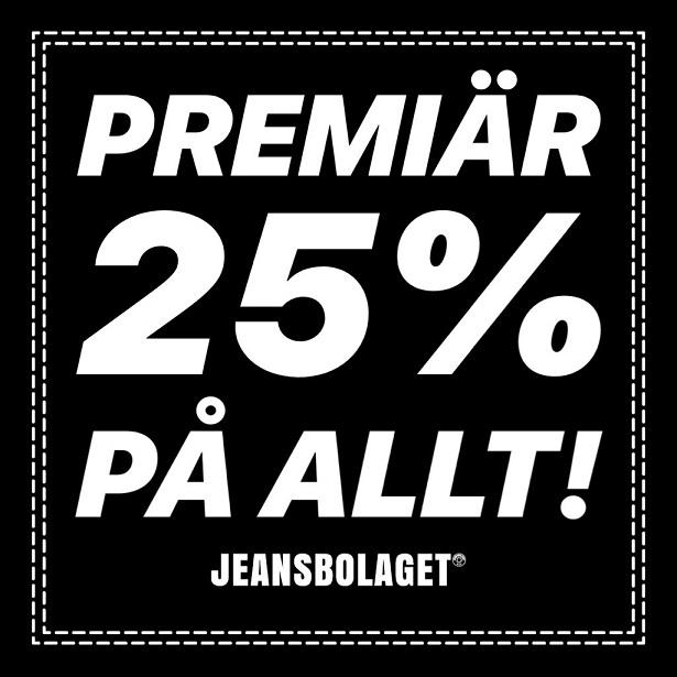Premiär för Jeansbolaget!