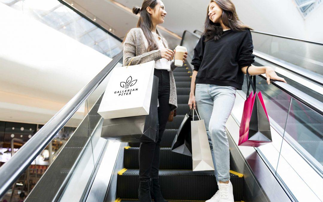 Happy Shopping i Gallerian 20-21 September