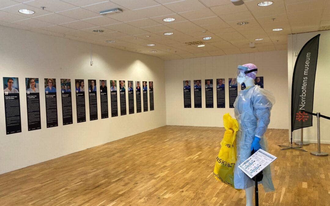 Covid-19 utställning